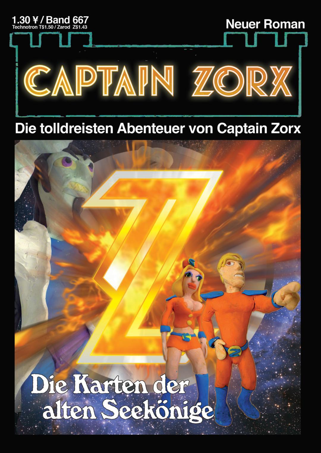 Zorx Novels und Stories - Captain Zorx